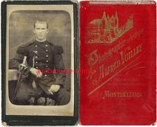CDV Soldat Du 15e Régiment-photo Alfred Vuilley à Montbéliard-en L'état - Guerre, Militaire
