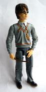 FIGURINE HARRY POTTER DUELLING Mattel 2003 14cm AVEC BAGUETTE (1) - Harry Potter