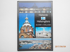 Postcard Helsinki Helsingfors Suomi Finland Grusse Aus Helsinki PU 2001 Nice Stamp My Ref B2909 - Finland