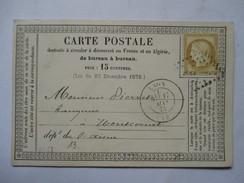 AISNE  02   LAON      -    PRECURSEUR  DE 1875      TTB - Laon