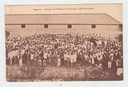NIGERIA / SORTIE DE L'ECOLE CATHOLIQUE (1200 GARCONS) - Nigeria