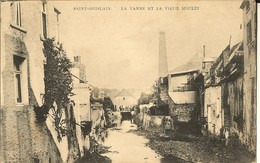 Saint Ghislain-la Vanne Et Le Vieux Moulin-cpa - Saint-Ghislain