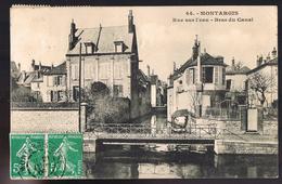 MONTARGIS . Rue Sur L'eau -- Bras Du Canal . - Montargis