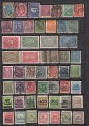 Allemagne  Lot De 51 Timbres Avant 1940 - Germany