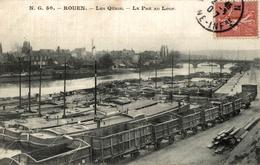 ROUEN LES QUAIS LE PRE AU LOUP - Rouen