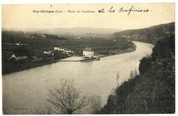 CPA 46 Lot Puy-l'Evêque Plaine De Courbenac - Autres Communes