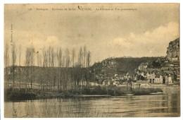 CPA 24 Dordogne Environs De Sarlat Beynac Le Château Et Vue Panoramique - Francia