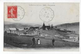 69  -  CPA  Les  Environs  De  Cours  -  THEL  -  Vue  Générale  Agriculteurs  Dans  Leur  Terre  En  1909 - Autres Communes