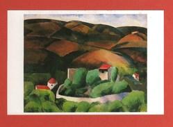 CP35 ART PEINTURE KISLING Moise Paysage De Provence - Pintura & Cuadros