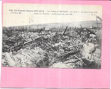 GUERRE 1914/15/16   -  Les Ruines De SOUCHEZ - Au Fond La Cote 119 - ENCH - - Guerre 1914-18