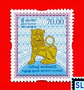 Sri Lanka Stamps 2008, Lion Emblem, Definitive, MNH - Sri Lanka (Ceylon) (1948-...)