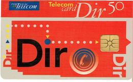 PHONECARDS-- PORTUGAL-- TELECOM CARD PT 50 IMPULSOS--  DIR - Portugal