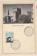 Commemorative Card * Vimapex * Guimarães * 1971 * Castelo De Guimarães - 1910-... République
