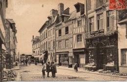 76 CAUDEBEC-en-CAUX  La Rue De La Rive - Caudebec-en-Caux