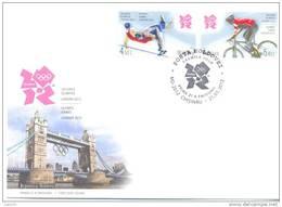 2012. Moldova, Summer Olympic Games LONDON´2012, FDC, Mint/** - Estate 2012: London