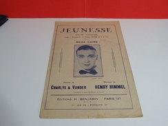 Musique & Partitions > REDA CAIRE > Jeunesse -Paroles Charlys & Vander -Musique Henry Himmel - Musique Classique