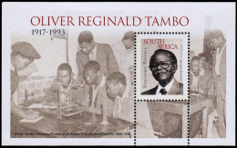 AFRIQUE DU SUD  South Africa Bf 149 Oliver Tambo - Neufs