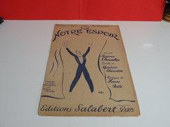Musique & Partitions > Maurice Chevalier > Note Espoir - Paroles + Musique édit Salabert - Music & Instruments