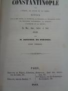 BOUCHER DE PERTHES:voyage CONSTANTINOPLE  Par L'Italie ,la Sicile Et La Gréce En Mai,juin,juillet Et Août En 1853, 2 Vol - Books, Magazines, Comics