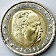 2 EURO 2003 MONACO  UNC = NEUVE - Monaco