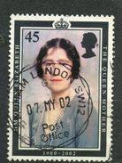 Great Britain 2002 45p Queen Mother Issue #2046  SON - 1952-.... (Elizabeth II)
