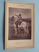 Trompette De Hussards ( Carte Album N° 1139 ) E. Detaille ( CABINET Photo / Goupil Et Cie - Paris ) Voir Photo ! - Guerra, Militari