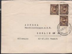 3126   Belgica Carta  Bruxelles -Brussel 1932 - Bélgica