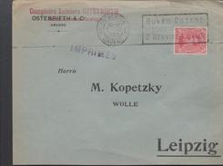 3126   Belgica Carta Impreso Antwerpen Anvers 1922 - Bélgica