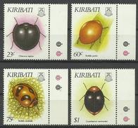 Kiribati 1993, Coleotteri (**), Serie Completa - Kiribati (1979-...)