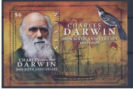 Nevis  2009 Prehistory Prehistoire Charles DARWIN - Prehistory