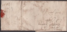 """!709 Letter """"ffor Mr Prescot Liveing At Chester"""" With Part Of An Albino 'WIGAN' Pmk.  0291 - Postmark Collection"""