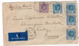 LETTRE - MAURICE - Du 29/04/1946 Pour La France - Mauritius (...-1967)