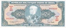 BRESIL   2 Cruzeiros   ND (1956-58)   Sign.3   P. 157Aa   UNC - Brésil