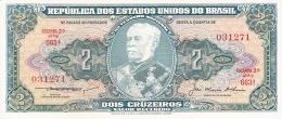 BRESIL   2 Cruzeiros   ND (1956-58)   Sign.5   P. 157Ab   UNC - Brésil
