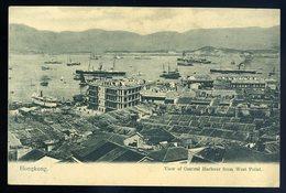 Cpa D' Asie Hongkong   View Of  Central Harbour From West Point ....  Hong Kong   GX55 - China (Hong Kong)