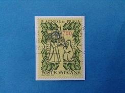 1982 VATICANO FRANCOBOLLO USATO STAMP USED - BEATA AGNESE DI PRAGA 700 Lire - - Vaticano (Ciudad Del)