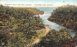 ¤¤   -  JAMAÏQIE  -  Priestman River Near Port-Antonio  -  Greeting From Jamaïca  -  ¤¤ - Jamaïque
