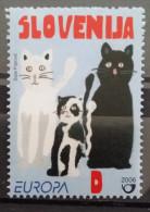 Slovenia, 2006, Mi: 587 (MNH) - Gatos Domésticos