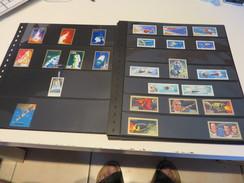 WELTWEIT   Posten  O /  ** /   Verschiedene  MARKEN,  3 D MARKEN,  MOTIVMARKEN,  BLÖCKE,  VIGNETTEN  Auf  STECKSEITEN - Briefmarken