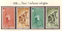 Ifni 1958, Pour L'enfance Indigène ( Thématique Sport ) - Ifni
