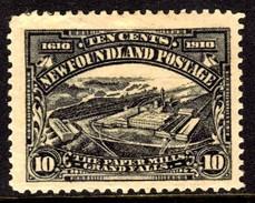 10564 Terra Nova Newfoundland 86 Fabrica De Papel Nn - 1908-1947