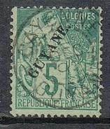 GUYANE N° 19 Avec Très Belle Oblitération De Cayenne - Guyane Française (1886-1949)
