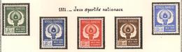 Indonésie 1951, Jeux Sportifs Nationaux ( Thématique Sport ) - Indonésie