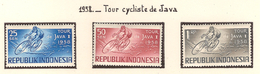 Indonésie 1958, Tour Cycliste De Java ( Thématique Sport ) - Indonésie