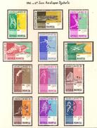 Indonésie 1962, 4 ème Jeux Asiatique, à Djakarta ( Thématique Sport ) - Indonesien