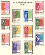 Indonésie 1962, 4 ème Jeux Asiatique, à Djakarta ( Thématique Sport ) - Indonésie