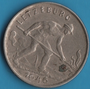 LUXEMBOURG 1 FRANC 1946 - Luxembourg