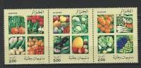 """Algerie YT 958 à 960 """" Fruits Et Légumes Divers """" 1989 Neuf** - Algérie (1962-...)"""