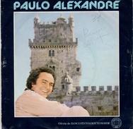 "COLLECTION  DISQUE VINYLE 45 T - PAULO ALEXANDRE ""DEPOSITA A TUA ESPERANCA"" VERDE VINHO - VIENS AUSSI AU PORTUGAL - .... - Vinyl Records"