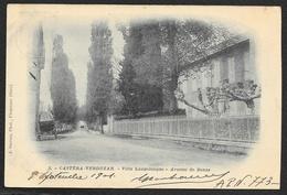 CASTERA VERDUZAN Rare Villa Lannelongue Avenue De Bonas (Barrieu) Gers (32) - Castera